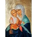 Ikona Maryi z Dzieciątkiem - dziś wybrałem Ciebie Maryjo