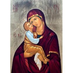 Eleusa - ikona Maryi z Dzieciątkiem