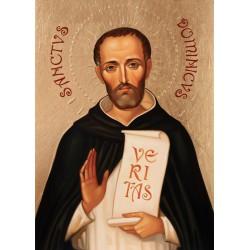 Ikona Świętego Dominika, wzór lwowski