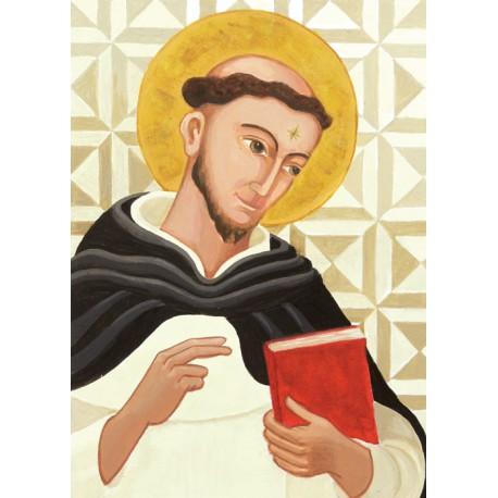 Święty Dominik, polska ikona współczesna