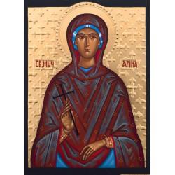 Ikona Świętej Ireny Męczennicy