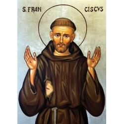 Święty Franciszek - ikona